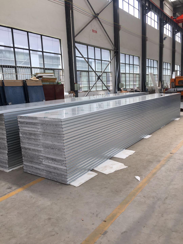 硅岩彩钢净化板