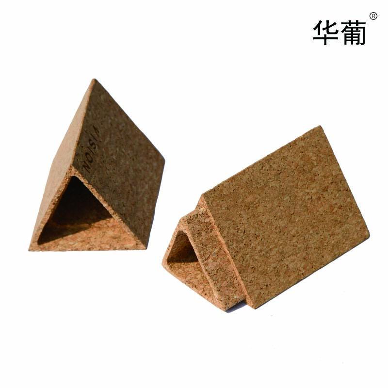 三角軟木筆筒