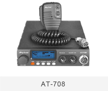 CB radio shape