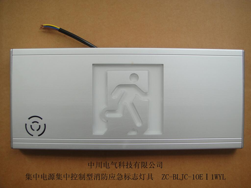 Intelligent emergency voice safety exit sign light