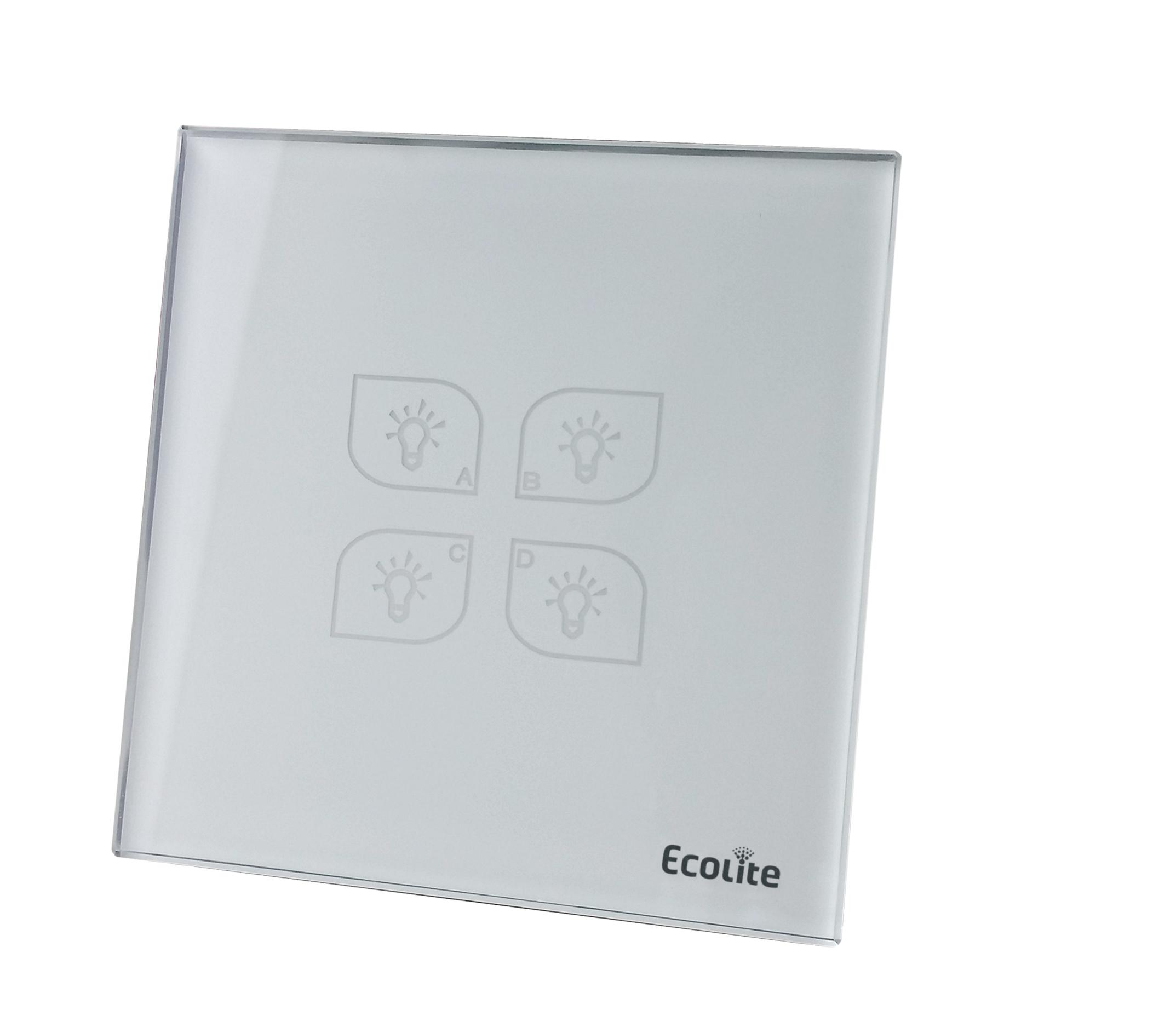 Smart lighting four-button panel