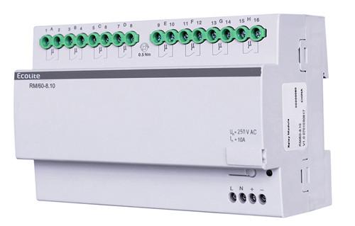 8-channel intelligent lighting control module