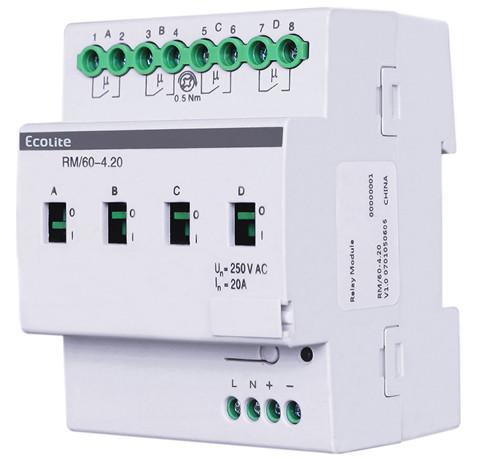 4-Way Intelligent Lighting Control Module