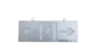 小型双面超薄铝合金标志灯