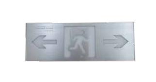 Small single-sided ultra-thin aluminum alloy sign light