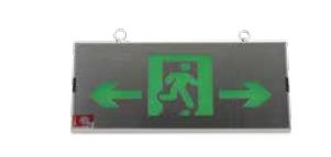 Small single-sided universal metal wall-mounted sign lamp