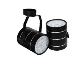 Metal surface mounted emergency lighting