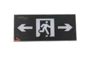 Small single-sided stainless steel wall mounted sign light