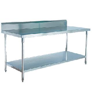 不锈钢工作台连下一层板