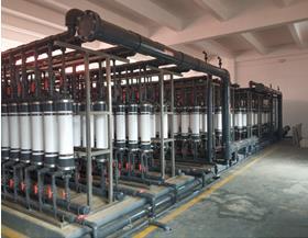 锰材料氨氮废水处理