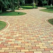 黄石陶土砖铺装