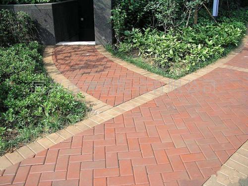 武汉陶土砖铺装