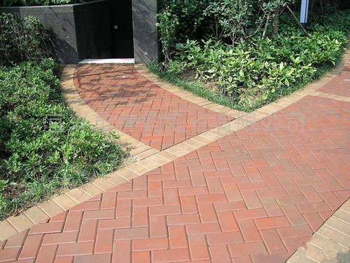 武漢陶土磚鋪裝