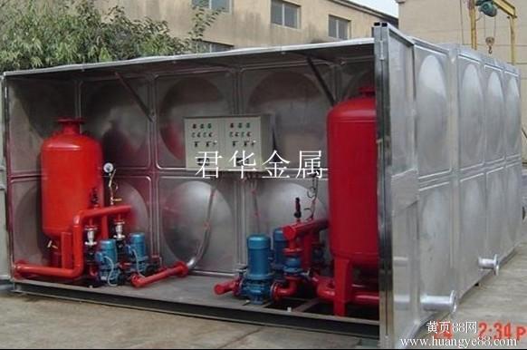 箱泵一體化水箱廠家