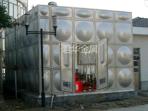箱泵一体化水箱安装