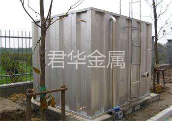 不锈钢肋板水箱