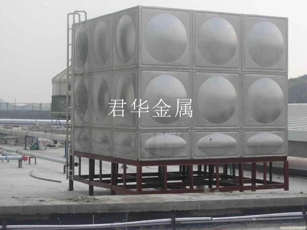 不锈钢方形水箱施工