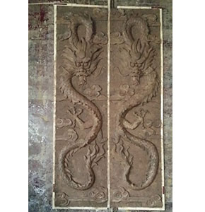 浮雕中国龙