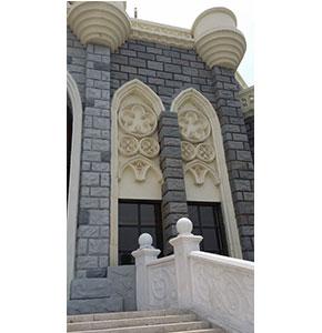 济南泉城欧乐堡(GRC浮雕天鹅堡)