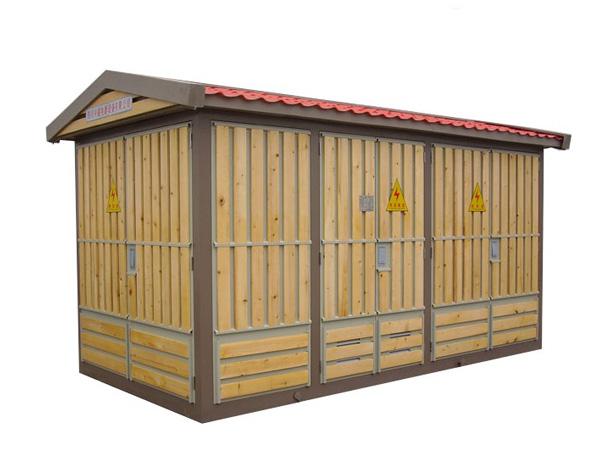 木条箱式变电站