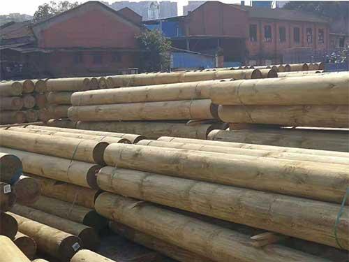 昆明古建築木頭