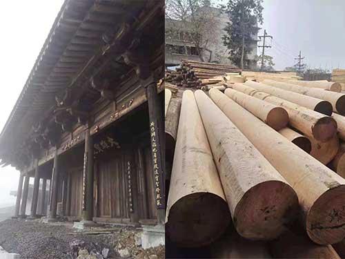 昆明寺庙建筑木