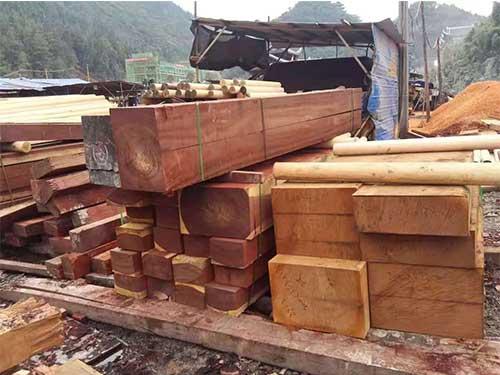 硬杂木市场