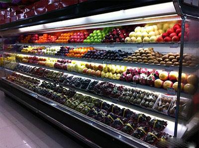 >水果风幕柜