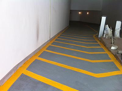 环氧树脂防滑坡道地坪