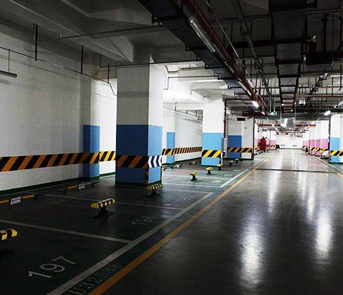 地下停車場環氧地坪