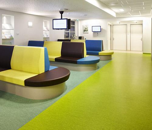 �t院PVC塑�z地板