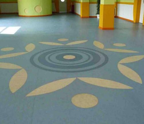 PVC塑�z地板