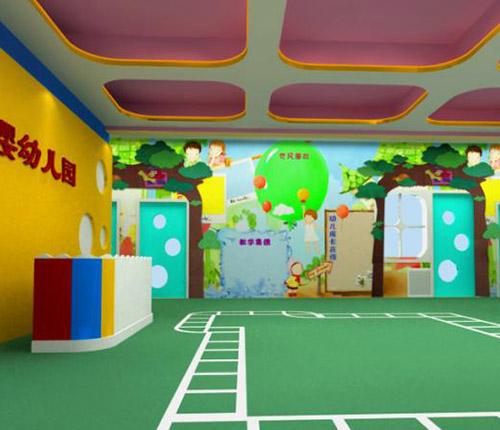 貴州幼兒園地板