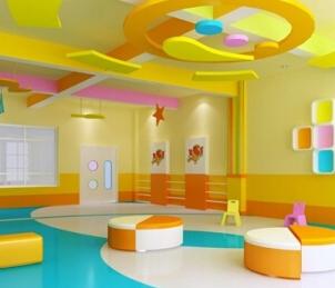 貴陽幼兒園地板施工