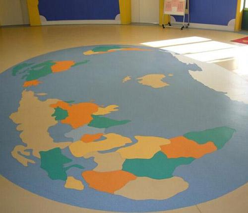 貴陽幼兒園室內地板