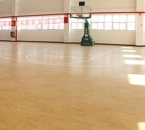 仁��PVC地板施工