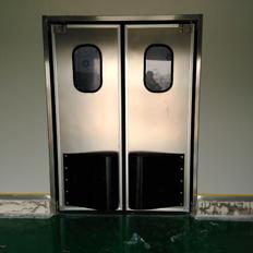【图文】不锈钢自由门的优点_介绍防撞门的基本信息