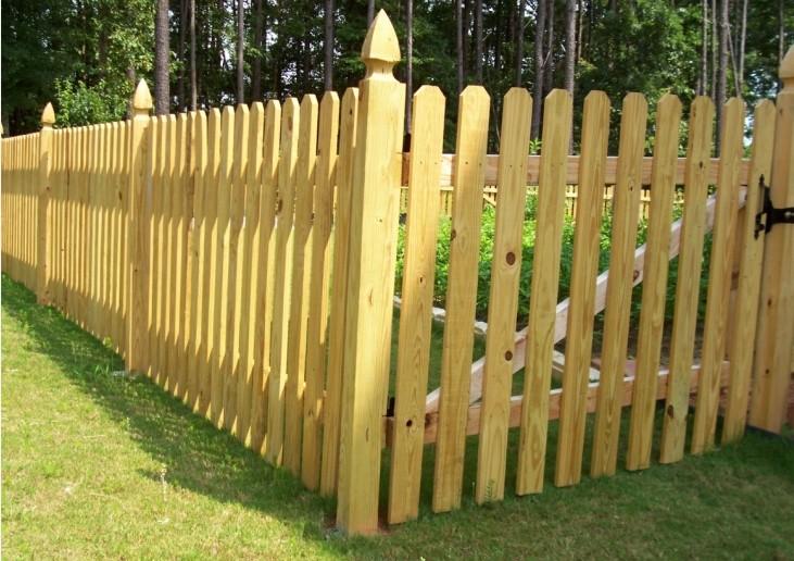 兴义防腐木围栏