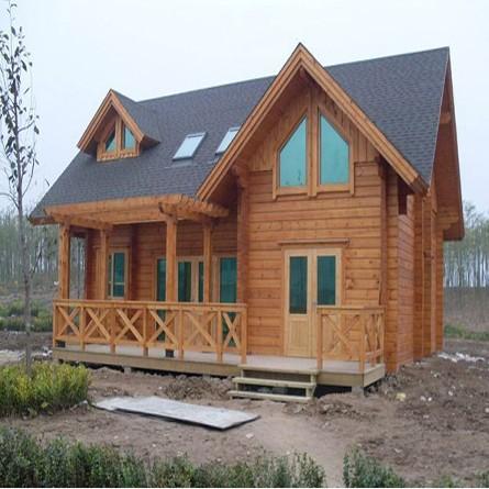碳化木木屋