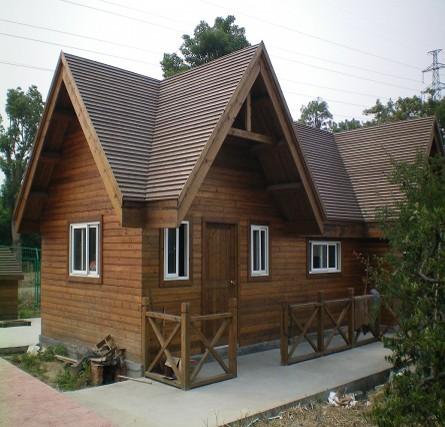 贵州碳化木木屋
