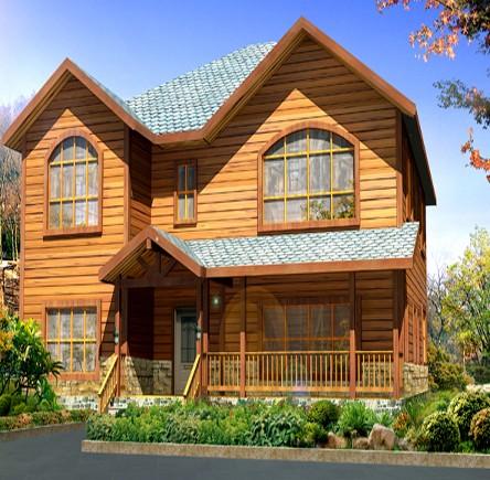 黔西南碳化木木屋