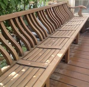 兴义防腐木桌椅