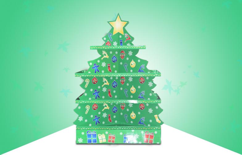圣诞树展架