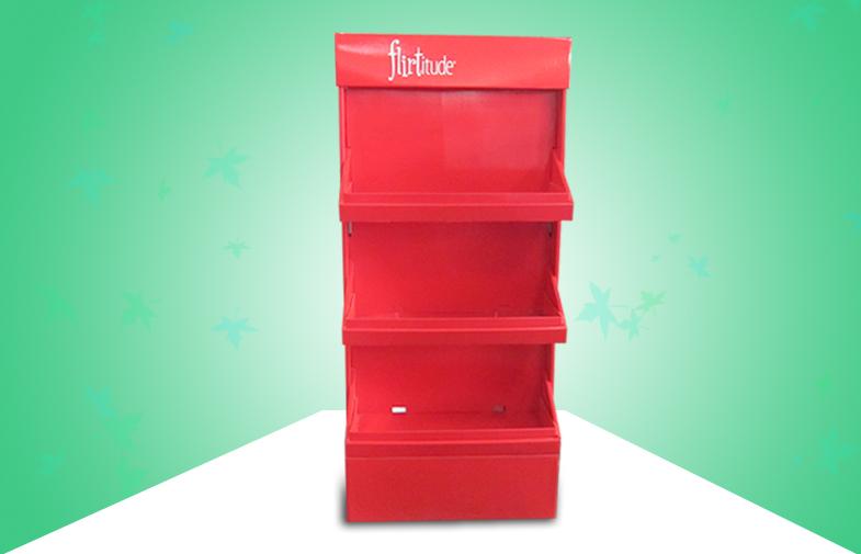 3层红色双面展架