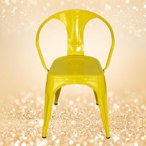 休闲金属椅