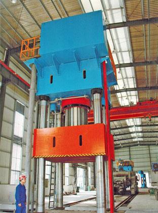 四柱式通用锻造液压机