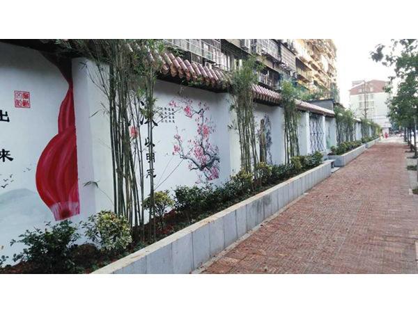 遵义新农村文化墙设计