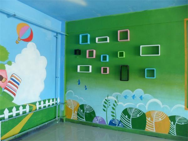 遵义幼儿园墙体彩绘