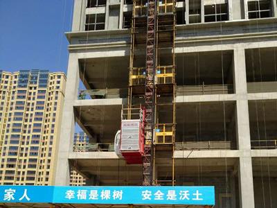 石家庄施工电梯租赁