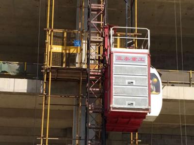 石家庄施工电梯